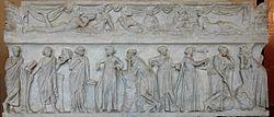 Journée d'étude de l'APHG Aquitaine et de l'Université Bordeaux 3 : Quoi de neuf en Histoire ancienne ? 250px-muses_sarcophagus_louvre_mr8801