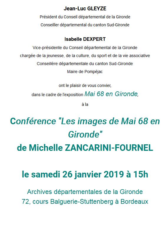 Conférence M. Zancarini-Fournel